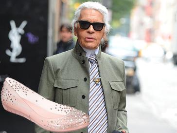 Карл Лагерфельд (Karl Lagrfeld) будет придумывать дизайн обуви из резины
