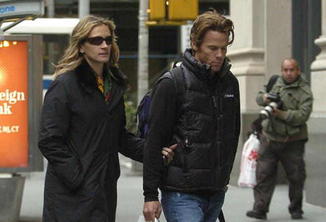 Джулия Робертс с мужем Денни Модером: фото