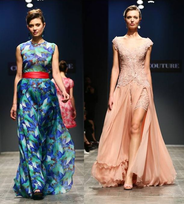 Длинные платья в пол: фото