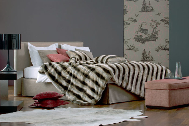 Кровать из программы Basis, Schramm, галереи Neuhaus.