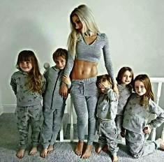 Мама пятерых детей похудела после родов на 115 кило