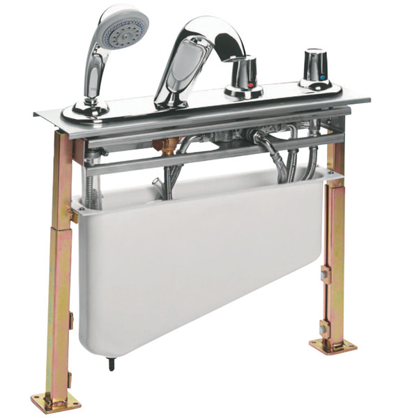 Современный встраиваемый смеситель представляет собой сложный комплекс технических приспособлений, который, возможно, потребует много места для инсталляции.