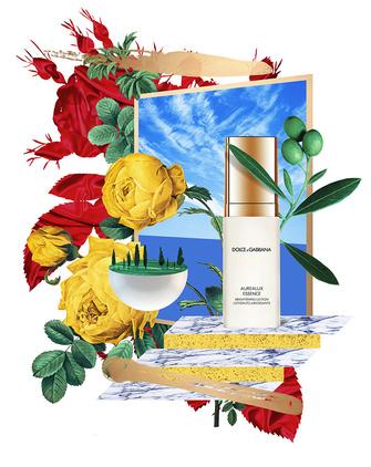 Увлажняющий лосьон для сияния кожи Aurealux, Dolce & Gabbana.