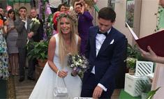 В сети появились фото тайной свадьбы Даны Борисовой