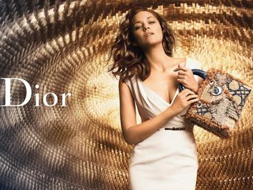 Марион Котийяр (Marion Cotillard) в рекламной кампании Lady Dior весна-лето 2012