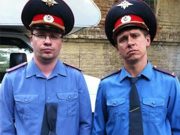 "Гарик Харламов и Тимур ""Каштан"" Батрутдинов на съемках нового шоу."
