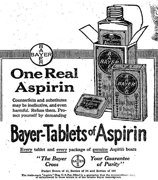 Действие аспирина