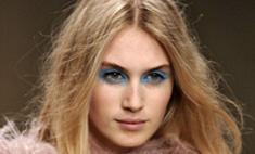 Тренд осени-2013: голубые тени. Видеоурок макияжа