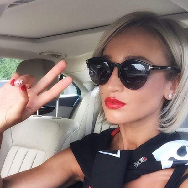 Ольга бузова причёски