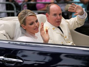принц Альбер, Шарлен Уиттсток, свадьба в Монако
