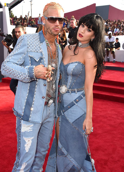 Кэти Перри и Riff Raff на MTV VMA 2014