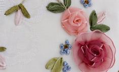 Рукоделие: техника и приемы объемной вышивки