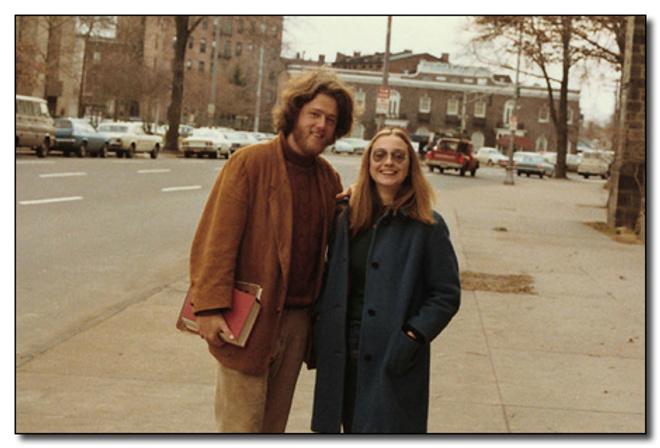 Билл и Хиллари Клинтон в Йеле