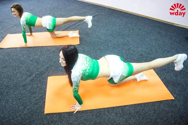 Упражнения для похудения, ХК «Салават Юлаев»