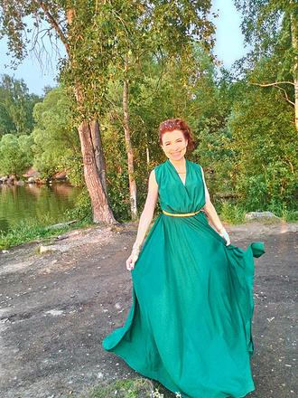 "Венера Каримова, участница конкурса ""Королева осени"", фото"