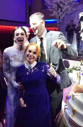 Свадьба Елены Исинбаевой