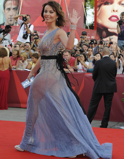 Виоланте Плачидо (Violante Placido) на открытии 68-го Венецианского кинофестиваля