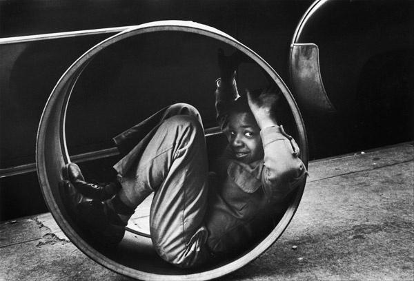 Нью-Йорк. Детская игра. 1955 год.