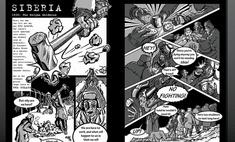 Британцы выпустили комикс о Гагарине