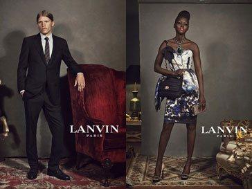 Рекламная кампания Lanvin сезона осень-зима 2012-2013
