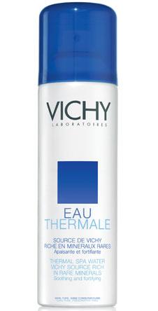 Термальная вода, Eao Thermale, Vichy. Успокаивает и увлажняет кожу.