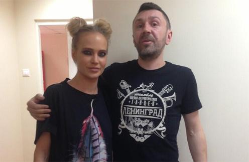 Глюк'oZа и Шнур перед концертом, фото