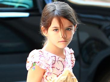 Сури Круз (Suri Cruise) отправилась в первый класс частной нью-йоркской школы