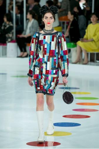 Показ круизной коллекции Chanel в Сеуле | галерея [1] фото [34]
