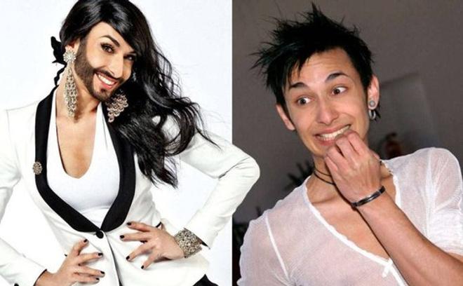 Кончита Вурст: фото до и после