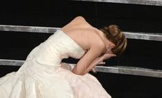 Минута славы: Дженнифер Лоуренс опозорилась на «Оскаре»