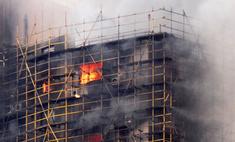 Число жертв пожара в Шанхае превысило 50 человек