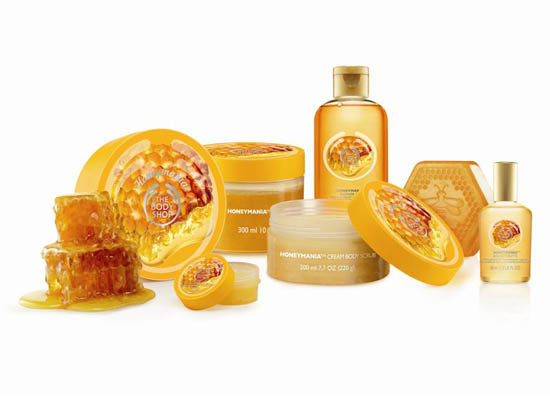 Линия по уходу за кожей Honeymania от The Body Shop