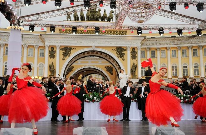 Гала-концерт на Дворцовой