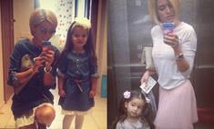 Как две капли: Ксения Бородина подражает дочери