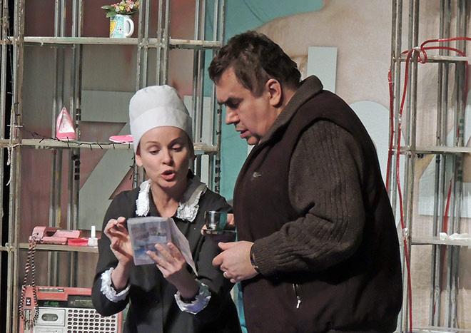 Жанна Эппле и Стас Садальский