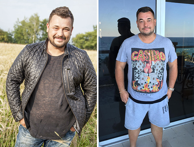 Сергей Жуков похудел, фото