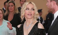 Мадонна выпускает коллекцию очков для модного бренда