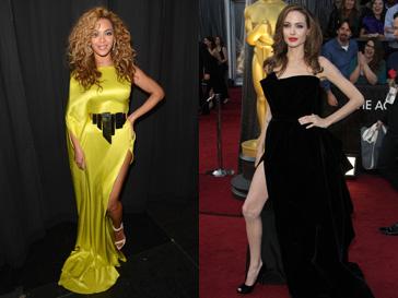 Бейонсе (Beyonce) берет пример с Анджелины Джоли (Angelina Jolie)