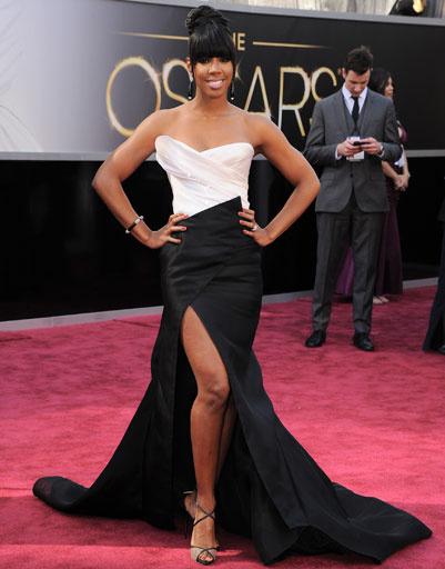 "Келли Роулэнд (Kelly Rowland) на премии ""Оскар""-2013"
