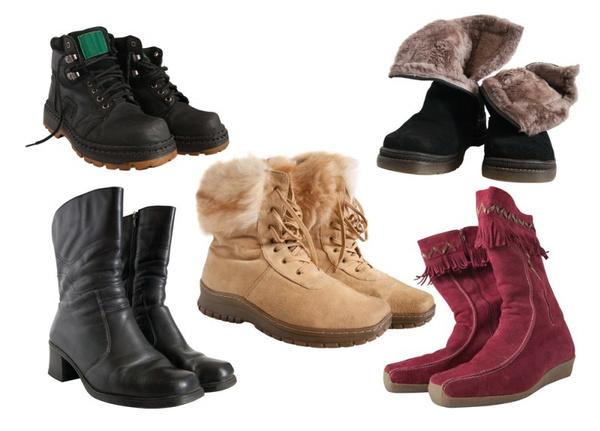 Чтобы зимняя обувь не скользила