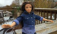 За натуральность: новая Барби с лишним весом и акне