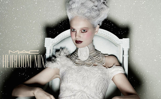 M.A.C : новогодний макияж