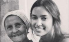 Ирина Шейк грустит из-за смерти бабушки