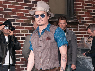 """Дизайнеры Америки номинировали Джонни Депп (Johnny Depp) в категории """"Икона стиля"""""""