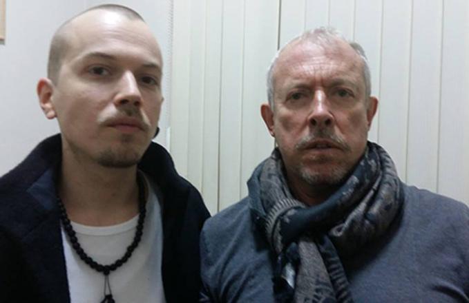 Андрей Макаревич с сыном Иваном Макаревичем, фото
