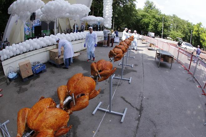 В Ростове прошел гастрономический праздник «День индейки»