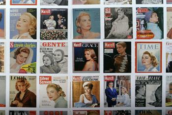 Обложки журналов с Гейс