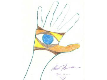 Рука Умы Турман (Turman Uma)
