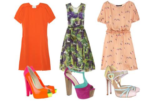 туфли и платья