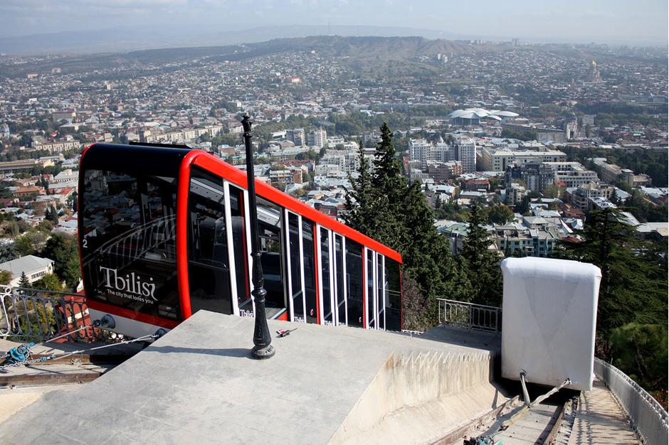 5. Фуникулер Тбилиси